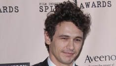 James Franco skipped his own after party, flew back to NY after the Oscars