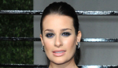 Oscar After-Party Fashion: Lea Michele's smug face & the Party Girls