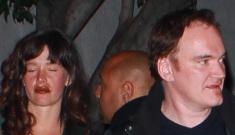 New (drunk) couple: Quentin Tarantino & Paz de la Huerta?