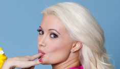 Holly Madison is proud of her curvy, un-retouched body