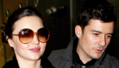 Orlando Bloom & Miranda   Kerr take baby Flynn to Paris