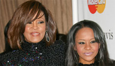 Whitney Houston and Bobby Brown's daughter photographed snorting coke