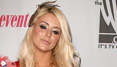 """""""Aubrey O'Day swaps some serious spit with her dog"""" links"""