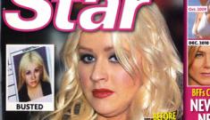 "Star: Boozy Christina Aguilera ""hits rock bottom"""