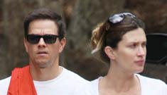 Mark Wahlberg's new son is named Brendan