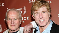 Redford and Newman sent a wrecked Porsche back and forth to each other