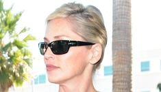 Sharon Stone wanted to botox her son