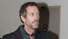 Hugh Laurie's house broken in to while he slept upstairs