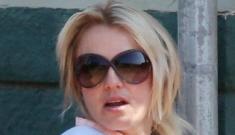 Britney Spears & K-Fed reunite briefly at Sean Preston's Little League game