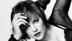 Abbie Cornish poses for GQ: she needs a more distinctive look, right?