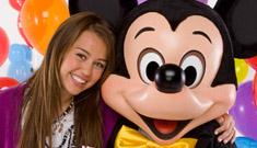 Miley Cyrus has a Disney sweet sixteen birthday party