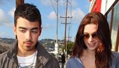 "NY Post: Ashley Greene and Joe Jonas broke up ""weeks ago"" (update: confirmed)"