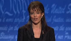 """Tina Fey does Sarah Palin in the VP debate"" morning links"