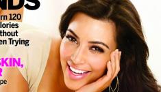 "Kim Kardashian is made of lies, denies plastic surgery: ""I've always had big lips"""