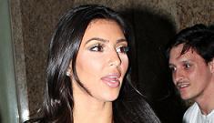 Kim Kardashian officially denies she's ever had plastic surgery