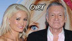 """Holly Madison lets it slip that Hugh Hefner """"and I aren't together"""""""