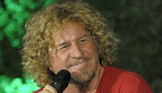 Sammy Hagar claims in all seriousness that he was abducted by aliens