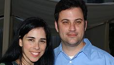 """Sarah Silverman says she & Jimmy Kimmel are """"very Bruce and Demi"""""""