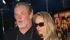 Nick Nolte escapes from his burning Malibu home