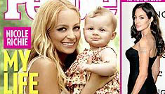 Nicole Richie and adorable Harlow on the cover of People