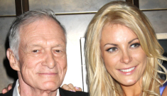 Hugh Hefner's fiancée Crystal Harris is screwing around   with Dr. Phil's son