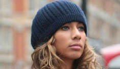 Leona Lewis turns up her nose at Harrods