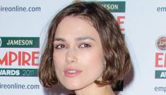 Keira Knightley in Rodarte at the Empire Awards: tragic or cute?