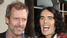 Hugh Laurie vs. Russell Brand: Who would you rather?