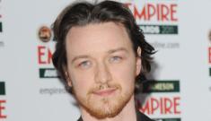 Hot Guy Empire Awards: James McAvoy's ginger beard melts panties