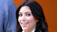 Kim Kardashian's full-skirted trench coat: unfortunate or cute?