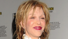 Courtney Love (briefly) reunites with Hole: classic hot mess or just subdued?