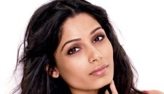 Freida Pinto shows off some skin for Glamour Mag: trashy or cute?