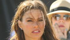 Sofia Vergara brings her gorgeous tatas out for David Beckham, Diet Pepsi