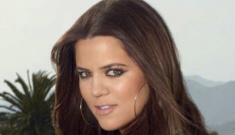 Khloe Kardashian on the   cover of Cosmo: Photoshop catastrophe?