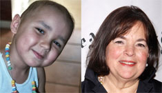 Make a Wish kid's dad tells Barefoot Contessa he'd rather swim with the dolphins
