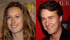 Ed Norton proposed to his girlfriend of six years
