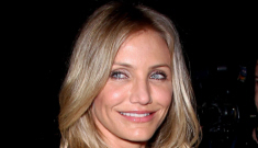 Cameron Diaz covers her biscuit in Roland Mouret: cute or cheap?