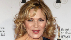 Kim Cattrall drunkenly berates a NY Post reporter