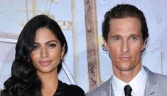 Camila Alves, McConaughey's partner, does purse line for QVC