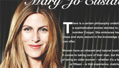 "Dean McDermott's ex wife Mary Jo Eustace publishes ""Cougar"" cookbook"