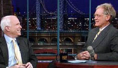 John McCain to go on David Letterman after high profile snub