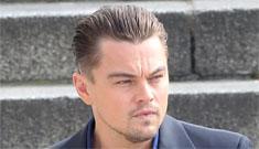 Leonardo DiCaprio films a commercial: hot, greasy or both?