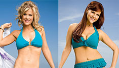 Sara Rue and Alison Sweeney show off weight loss in  bikinis