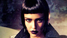 Jessica Alba's Vogue Italia shoot: dominatrix bangs trauma or high fashion?