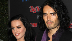 Russell Brand is pissed that Katy Perry still drinks, smokes & parties