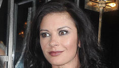 Catherine Zeta-Jones' bipolar disorder treatment is related to Gerard Butler