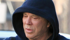 """Mickey Rourke no longer thinks Megan Fox is """"the best actress"""" ever"""