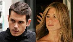 John Mayer and Jennifer Aniston on three city reunion tour