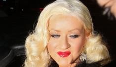 Christina Aguilera's drag queen feathers: hilarious or tragic?