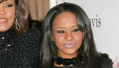 Whitney's daughter is BFFs w/ Laurence Fishburne's p0rn star daughter